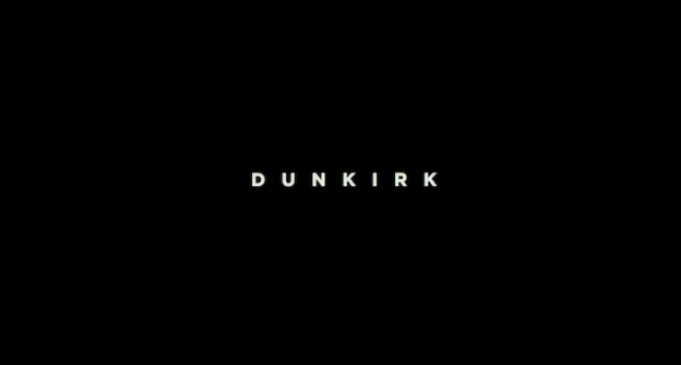 Dunkirk (2017) title screen