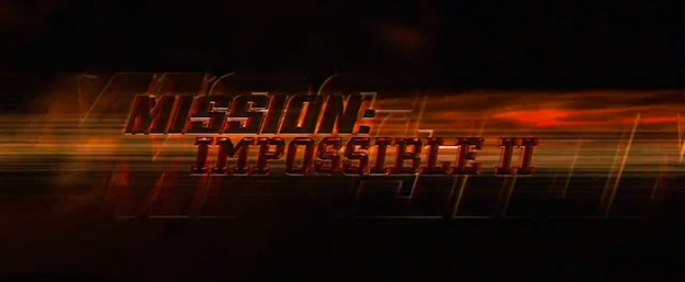 Mission: Impossible 2 title screen