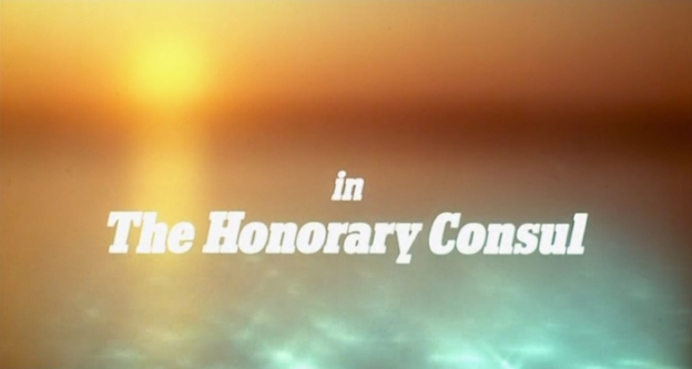 The Honorary Consul title screen