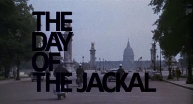 The Day Of The Jackal title screen