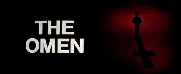 The Omen (1976) title screen