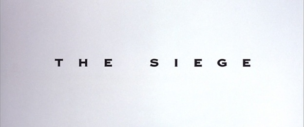The Siege title screen