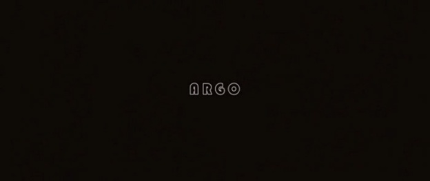 Argo title screen