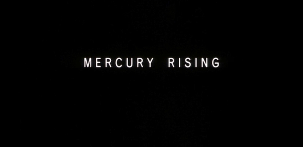 Mercury Rising title screen