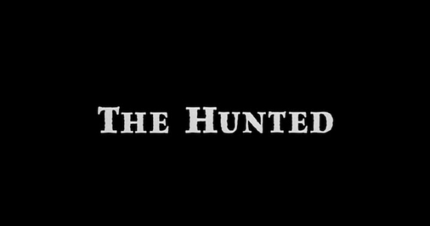 The Hunted title screen