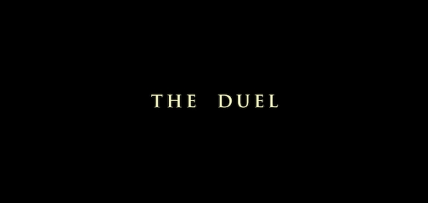 The Duel title screen