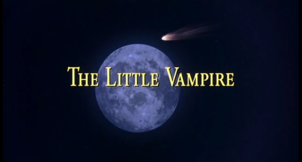 The Little Vampire title screen