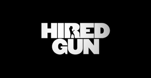 Hired Gun title screen