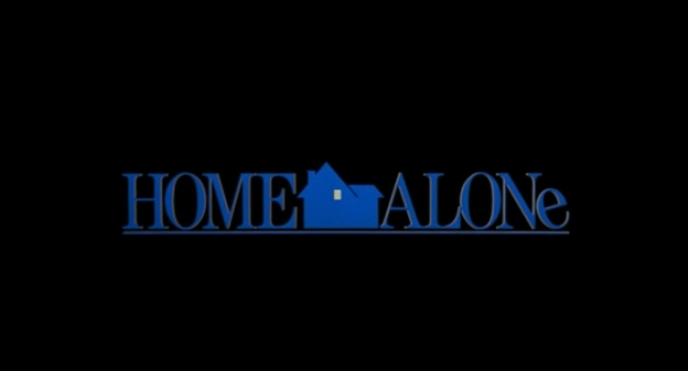 Home Alone title screen