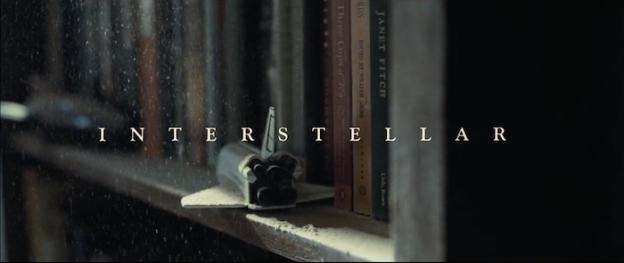 Interstellar title screen
