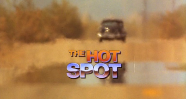 The Hot Spot title screen
