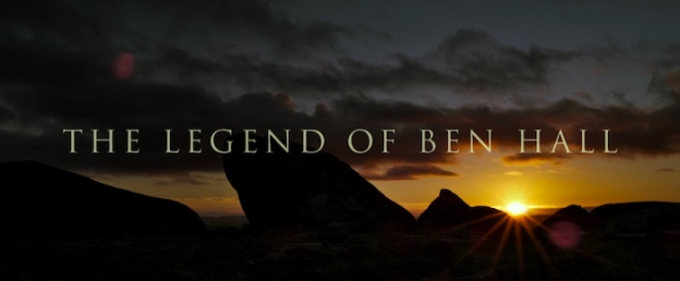 The Legend Of Ben Hall title screen