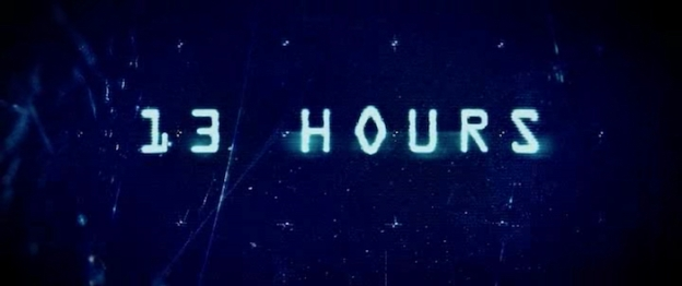 13 Hours: The Secret Soldiers Of Benghazi title screen