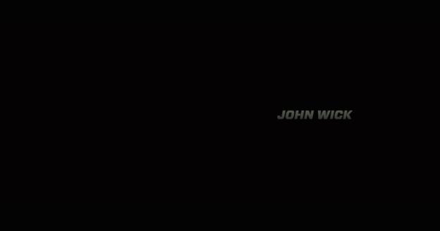 John Wick title screen