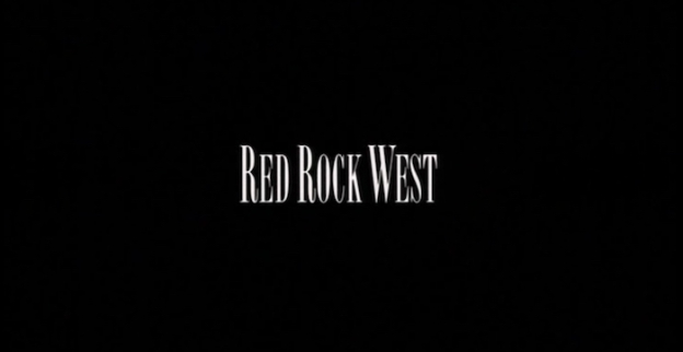 Red Rock West title screen
