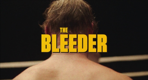 The Bleeder title screen