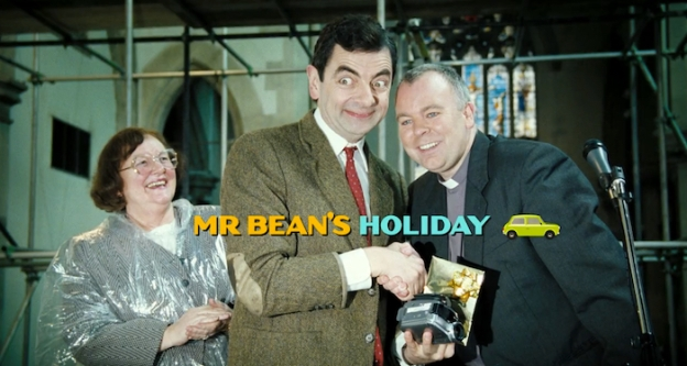 Mr Bean's Holiday title screen