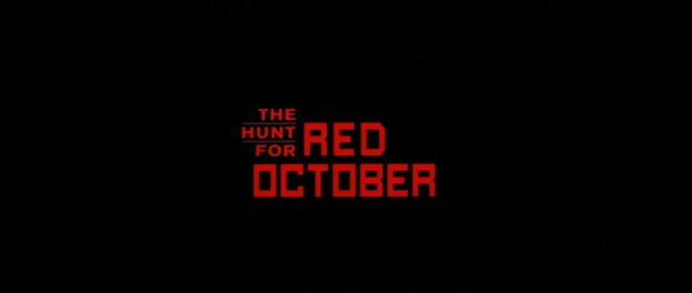 The Hunt For Red October title screen