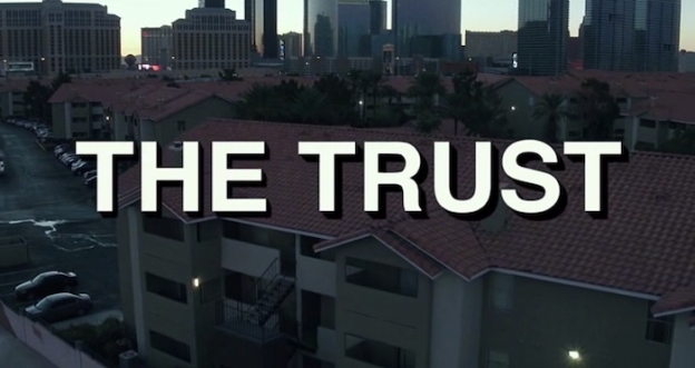The Trust title screen