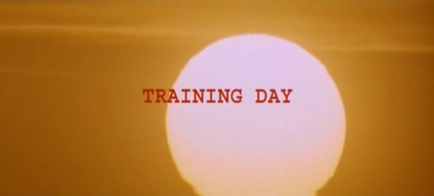 Training Day title screen