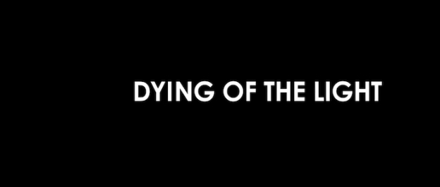 Dying Of The Light title screen
