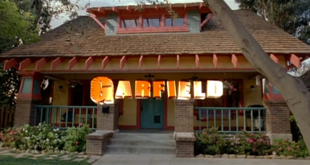 Garfield: The Movie title screen