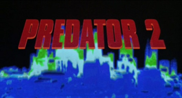 Predator 2 title screen