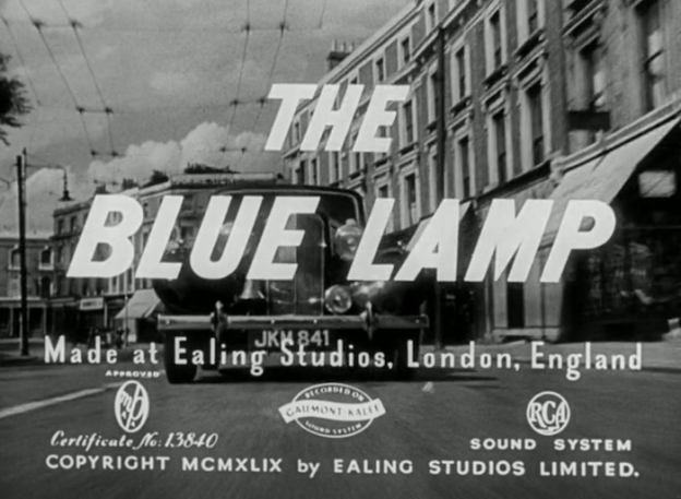 The Blue Lamp title screen