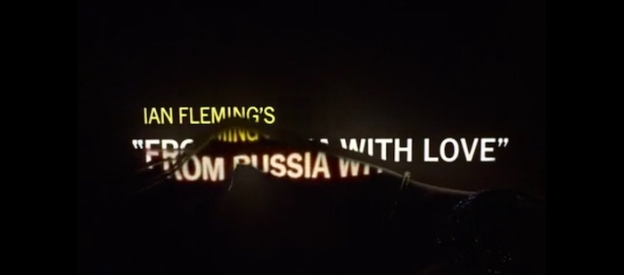 From Russia With Love title screen