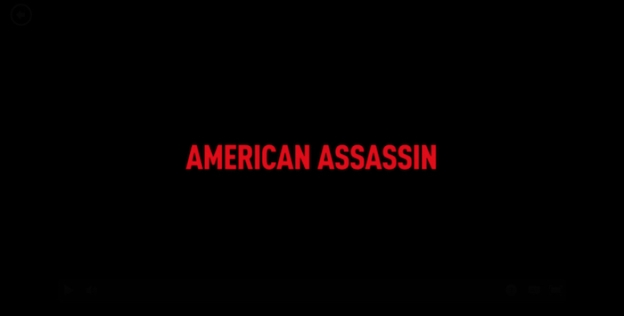 American Assassin title screen