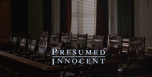 Presumed Innocent title screen