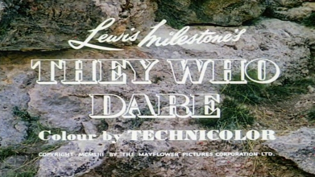 They Who Dare title screen