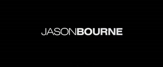 Jason Bourne title screen
