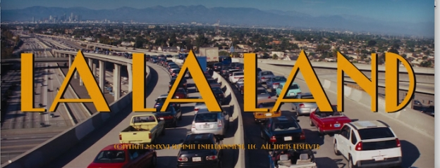La La Land title screen