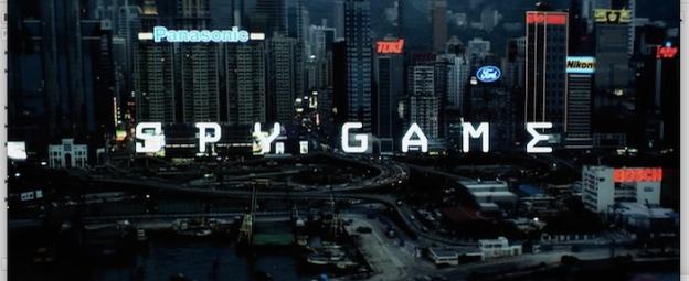 Spy Game title screen