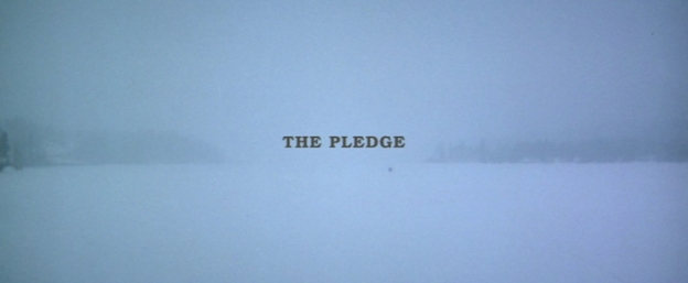 The Pledge title screen
