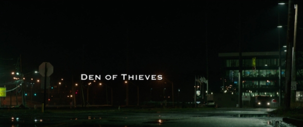 Den Of Thieves title screen