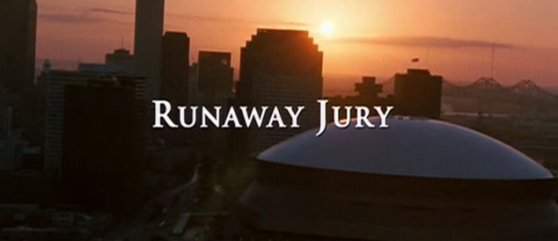 Runaway Jury title screen