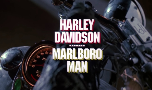 Harley Davidson And The Marlboro Man title screen