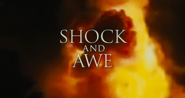 Shock And Awe title screen