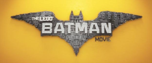 The Lego Batman Movie title screen