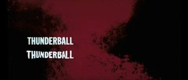 Thunderball title screen