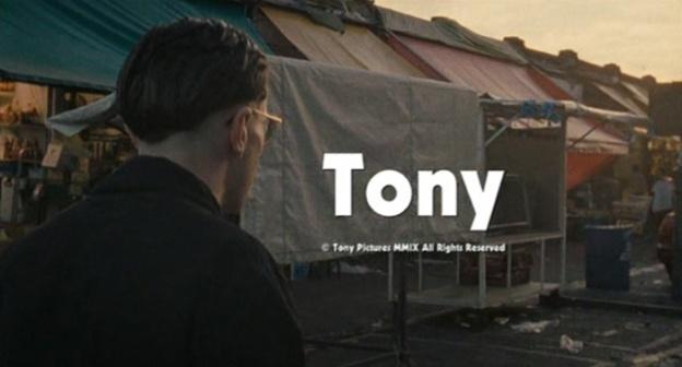 Tony title screen