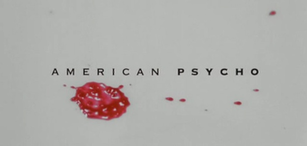 American Psycho title screen