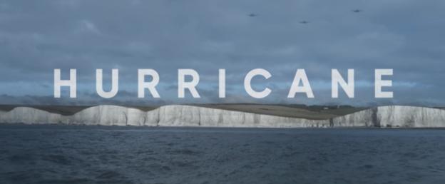 Hurricane title screen