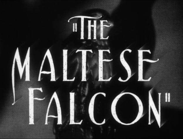 The Maltese Falcon title screen