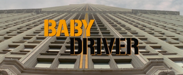 Baby Driver title screen