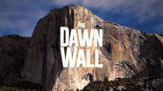 The Dawn Wall title screen