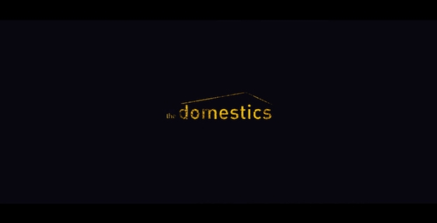 The Domestics title screen