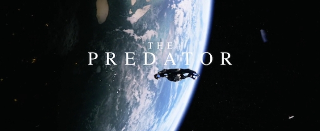The Predator title screen
